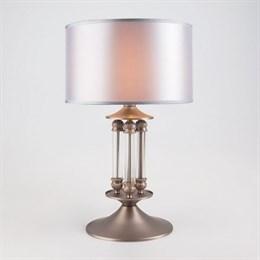Интерьерная настольная лампа Adagio 01045/1 сатин-никель