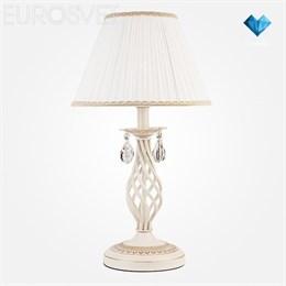 Интерьерная настольная лампа Amelia 10054/1 белый с золотом