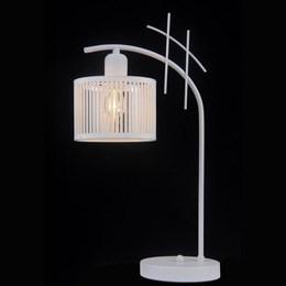 Интерьерная настольная лампа Amsterdam AMSTERDAM 81053-1T SATIN WHITE