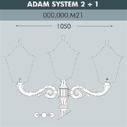 Консоль Adam 000.000.M21.A0