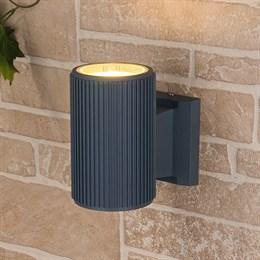Настенный светильник уличный Strict 1404 TECHNO серый