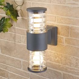 Настенный светильник уличный Strada 1407 TECHNO серый