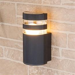 Настенный светильник уличный Ignis 1444 TECHNO черный