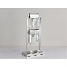 Интерьерная настольная лампа 4200 4202/T chrome