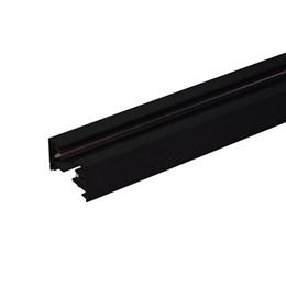 Шинопровод Track Rail  BK Surface TRL-1-1-100-BK / Однофазный шинопровод черный (1м.)