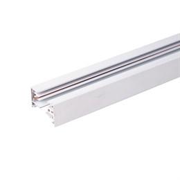 Шинопровод Track Rail  WH Surface TRL-1-1-100-WH / Однофазный шинопровод белый (1м.)