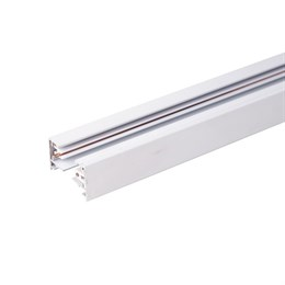 Шинопровод Track Rail  WH Surface TRL-1-1-200-WH / Однофазный шинопровод белый (2м.)
