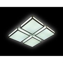 Потолочный светильник Orbital Crystal Sand FS1888 WH/SD 144W 4200K D520*520