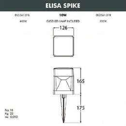 Грунтовый светильник Elisa DS2.561.000.LXD1L